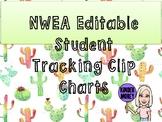 NWEA Cactus Themed Student Self Tracking Data Chart