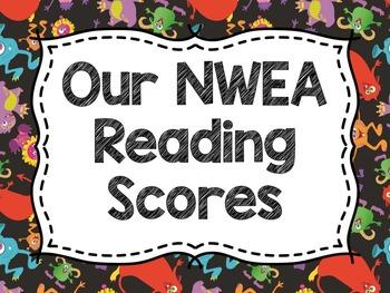 NWEA Data Clip Chart - Monster Theme