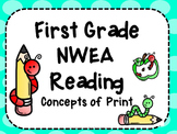 NWEA- First Grade Reading Helper-Concepts of Print