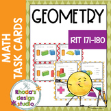 Geometry NWEA MAP Prep Math Practice Task Cards RIT Band 171-180 Interventions