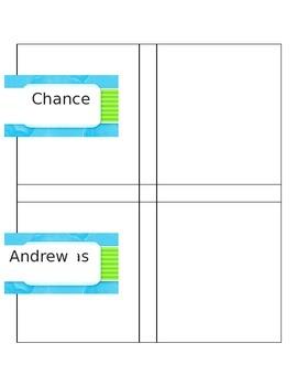 NWEA Goal Cards