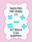 NWEA Grade 2-5 RIT to CCSS Alignment