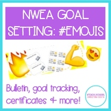 NWEA MAP Goal Setting #EMOJI VERSION - Bulletin, Brag Tags, Student Growth