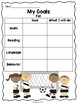 nwea map goal setting sheets by gummy bear learning tpt. Black Bedroom Furniture Sets. Home Design Ideas