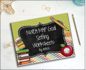Worksheets Nwea Goal Setting Worksheet nwea map goal setting works by megs crayons teachers pay worksheets editable