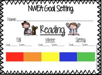 NWEA Spring Goal Sheet - Reading | education | Pinterest ...