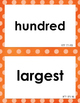 NWEA MAP Math Academic Vocabulary Word Wall RIT 151-220, C