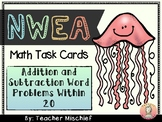 NWEA MAP Math Cards- Addition and Subtraction Word Problems within 20