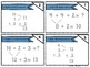 NWEA MAP Math Cards- Addition within 20- 3 Addends