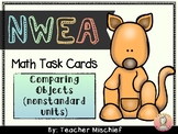 NWEA MAP Math Cards- Comparing Objects (nonstandard units)