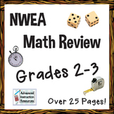 NWEA MAP Math Cumulative Review (Grades 2-3)