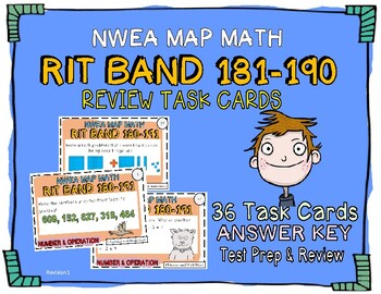 NWEA MAP Math Number and Operation (RIT Band 181-190) Practice