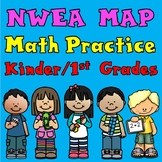NWEA MAP Math Practice:  Kinder and First grade