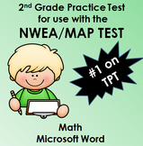 NWEA MAP Math Practice Test WORD