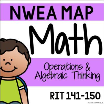 NWEA MAP - Operations & Algebraic Thinking Centers - RIT 141-150