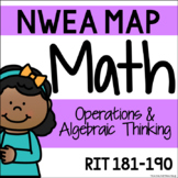 NWEA MAP - Operations & Algebraic Thinking Centers - RIT 181-190