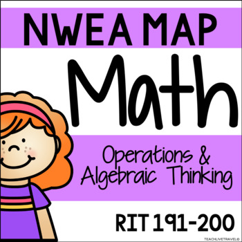NWEA MAP - Operations & Algebraic Thinking Centers - RIT 191-200