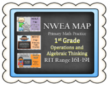 NWEA MAP PRIMARY MATH PRACTICE *BUNDLE*Operations and Alge