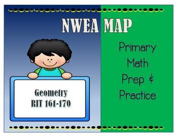 NWEA MAP PRIMARY MATH PRACTICE GEOMETRY 161-170