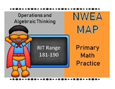 NWEA MAP PRIMARY MATH PRACTICE Operations and Algebraic Th