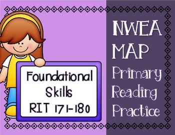 NWEA MAP PRIMARY READING PRACTICE Foundational Skills RIT Range 171-180