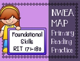 NWEA MAP PRIMARY READING PRACTICE Foundational Skills RIT Range 171-180
