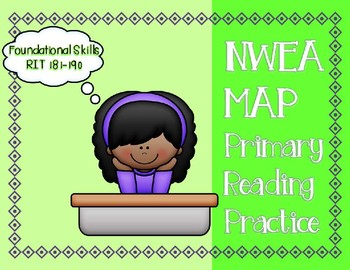 NWEA MAP PRIMARY READING PRACTICE Foundational Skills RIT Range 181-190
