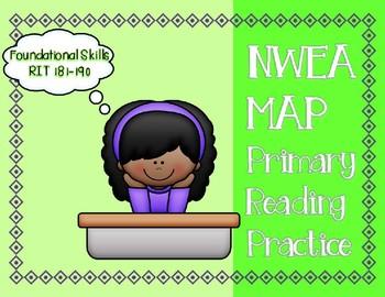 NWEA MAP PRIMARY READING PRACTICE Foundational Skills RIT Range 181-190