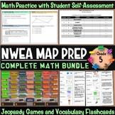 NWEA MAP Prep Math 5th Grade Bundle