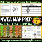 NWEA MAP Prep Math 6th Grade Bundle