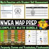 NWEA MAP Prep Math 6th Grade Bundle
