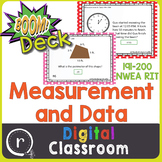 Standardized Test Prep Measurement & Data RIT Band 191-200 Boom Deck Paperless
