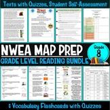 NWEA MAP Prep Reading Bundle Eighth Grade