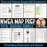 NWEA MAP Prep Reading Bundle Fifth Grade