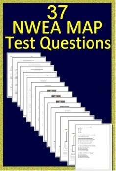 NWEA MAP Fifth Grade Reading Test Prep Practice Tests and Games Bundle!