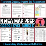 NWEA MAP Prep Reading Bundle Fourth Grade