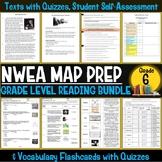 NWEA MAP Prep Reading Bundle Sixth Grade