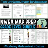 NWEA MAP Prep Reading Bundle Third Grade