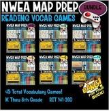 NWEA Reading No Prep Reading Vocabulary Games 1st thru 8th Grade