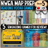 NWEA MAP Prep Reading Games 5th Grade RIT 201-210