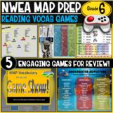 NWEA MAP No Prep Reading Games 6th Grade RIT 211-220