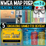 NWEA MAP Prep Reading Games 7th and 8th Grade RIT 221-260