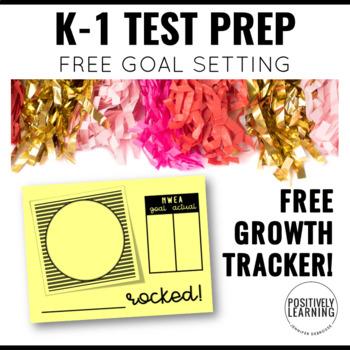 NWEA MAP Prep Test Free Growth Celebration Tracker