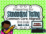 Standardized Testing Practice - First Grade {Aligned to Common Core}
