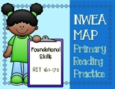 NWEA MAP PRIMARY READING PRACTICE Foundational Skills RIT Range 161-170