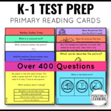 NWEA MAP Reading Test Prep Practice Cards distance learning