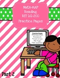 NWEA MAP Reading: Practice Pages RIT 161-200