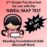 NWEA MAP Reading Foundational Skills Practice Test WORD