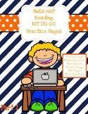 NWEA MAP Reading: Practice Pages RIT 131-160