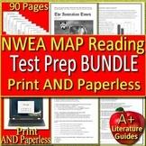 NWEA MAP Reading Test Prep Big Bundle - Practice Tests Grades 6, 7 & 8